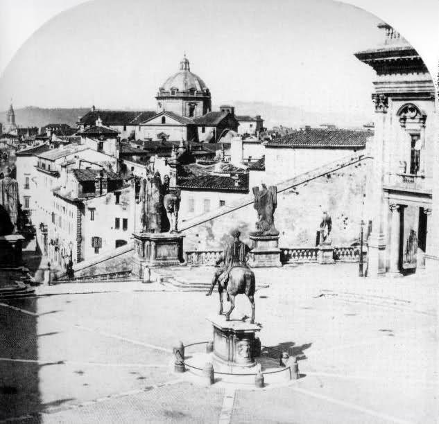 Piazza Ara Coeli  1862