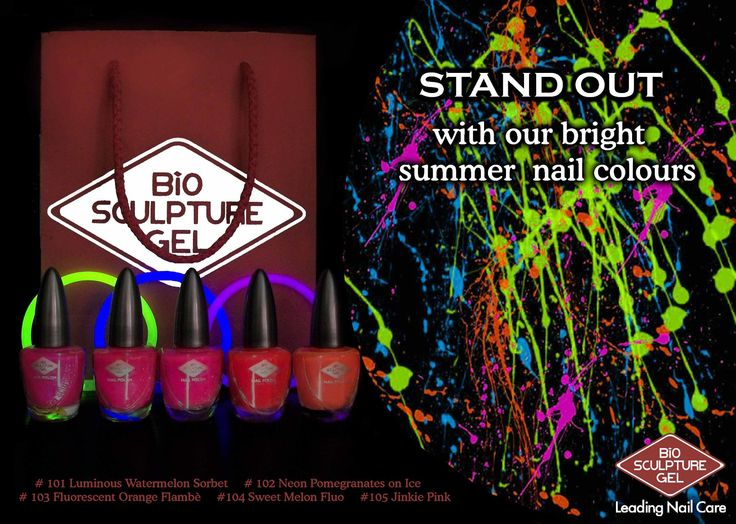 Neon summer colours