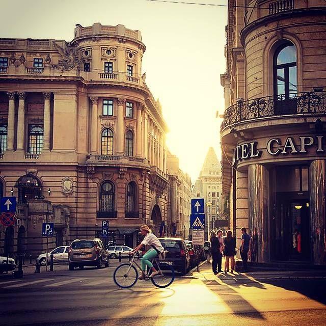 """Just a sunset in Bucharest! "" Photo: Calin Stan"