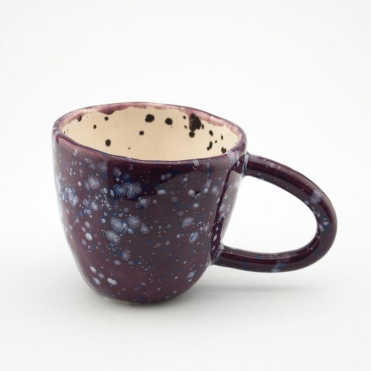 Image of Mug   Raspberry and Ink Blots