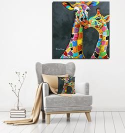 Francie & Josie McZoo - Massive McCoo Canvas