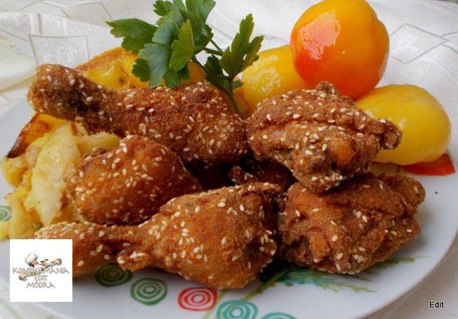 Egy finom Szezámmagos csirkecomb tepsiben sütve ebédre vagy vacsorára? Szezámmagos csirkecomb tepsiben sütve Receptek a Mindmegette.hu Recept gyűjteményében!