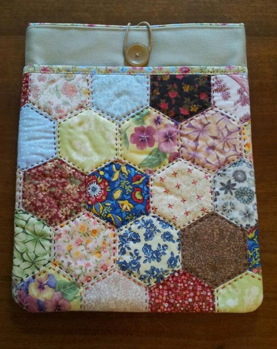 Tablet cover  PATCHWORK  HEXAS