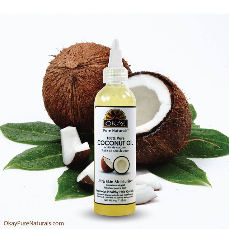OKAY 100% Pure Coconut Oil is an excellent massage oil and acts as a great moisturizer for all types of skin. Using OKAY's Pure Coconut oil as a hair conditioner or treatment does wonders to the hair. You can find this product on OkayPureNaturals.com #okay #okaypurenaturals #coconut #oil #massage #moisturize #skin #hair #conditioner #treatment