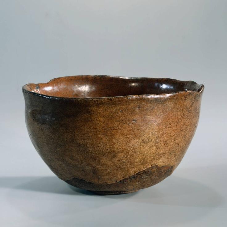 16th Cy japanese raku (tea bowl )  Rijksmuseum Amsterdam