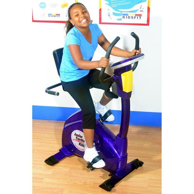 Treadmill Belt Too Loose: KidsFit Junior Semi-Recumbent Exercise Bike