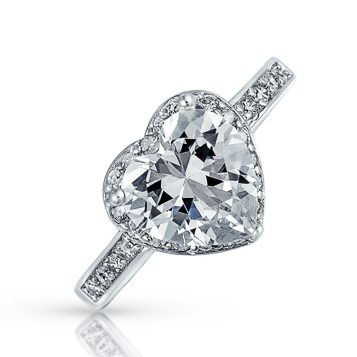 Uptown Heart Ring