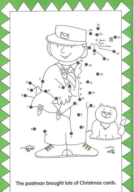 dot to dot postman worksheet