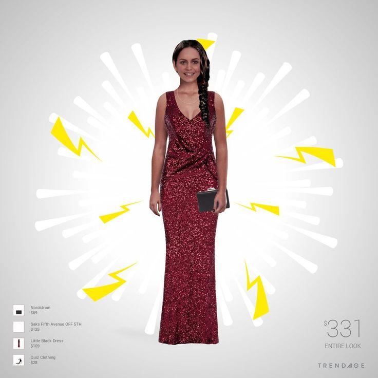 Traje de moda hecho por Keyling usando ropa de Saks Fifth Avenue OFF 5TH, Little Black Dress, Quiz Clothing, Nordstrom. Estilo hecho en Trendage