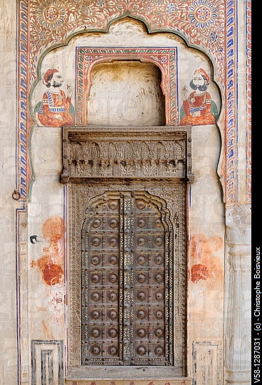 Door in Rajasthan - Photo by Christophe Boisvieux