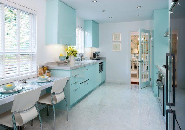 Mint Green Decor Little Piece Of Me Blue Kitchen Decor Tiffany Blue Kitchen Minimalist Kitchen Cabinets