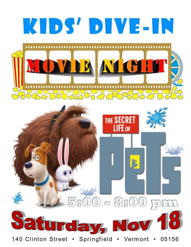 Kids' Dive-In Movie Night at the EdgarMay