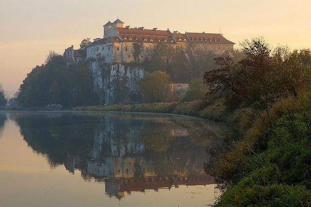 Tyniec Benedictine abbey by PolandMFA