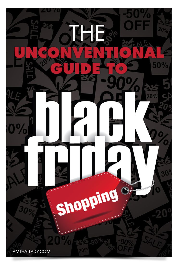 Save Thousands this year by learning The Unconventional Guide to Black Friday Shopping