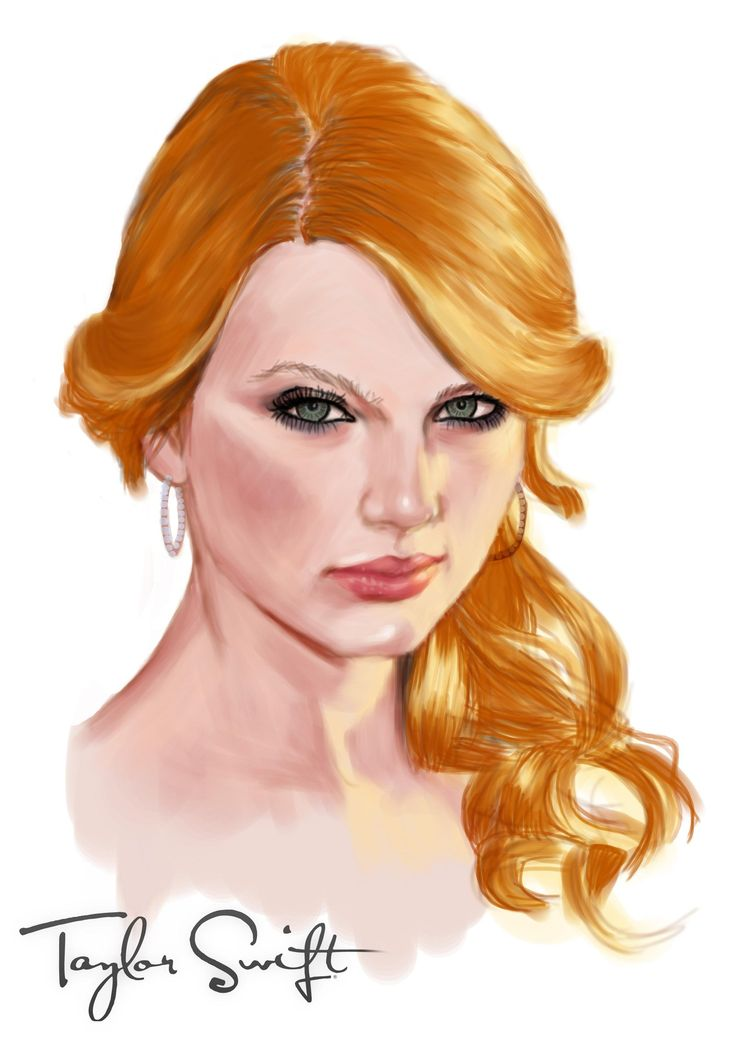 Taylor swift by ARTbhie.deviantart.com on @DeviantArt