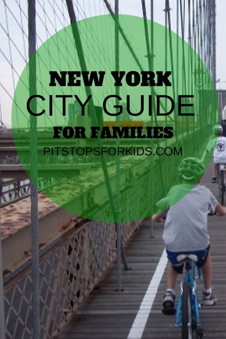 Attraction reviews, hotel picks, and itineraries for visiting NYC with kids!