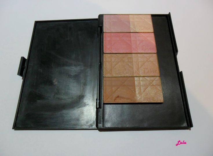 Mi paleta de rubores Dior/My palette blush Dior