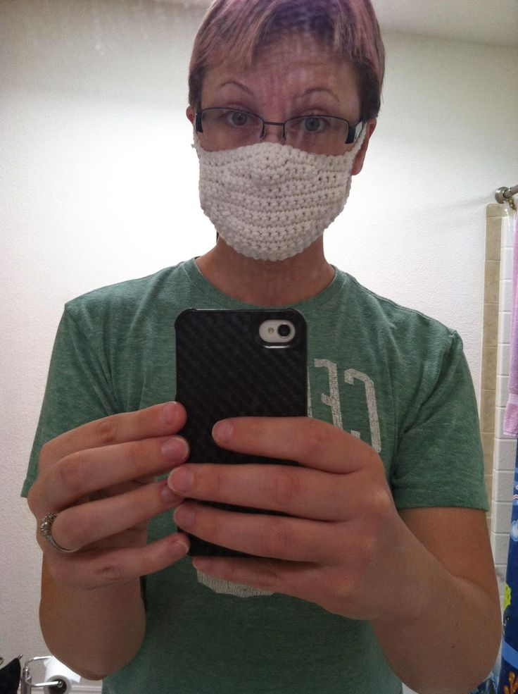 #Crochet Face Mask | My Yarn Spot: My first Pattern (and blog post!)