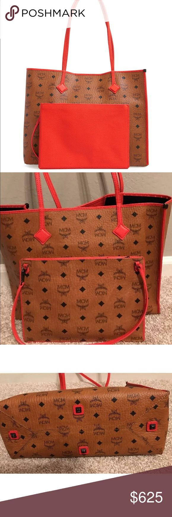 New, never been worn Cognac MCM Viseto Kira Bought online at Nordstrom. Decided I don't love it.  As of this March 2017 still in the store. No tag MCM Bags Totes