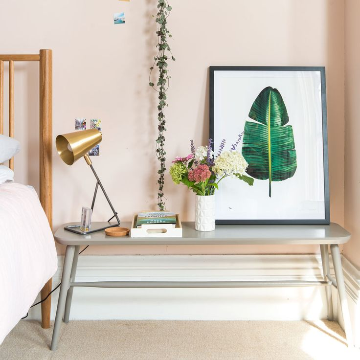 Before and after: Step inside this bedroom sanctuary-meets-calming work space featuring our Little Gee in Ideal Home