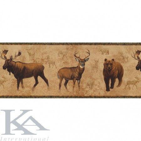 Bordura AMERICAN ANIMALS din colectia BORDER PORTFOLIO