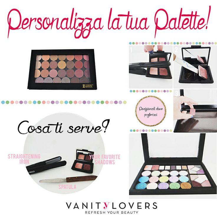 Non c'è niente di più facile che creare la propria Palette personalizzata! http://www.vanitylovers.com/brands/zpalette.html?utm_source=pinterest.com&utm_medium=post&utm_content=vanity-zpalette&utm_campaign=pin-vanity