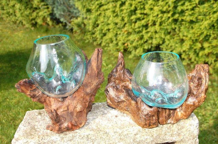 Glassvase, Glasschale, Pflanzenglas, Aquarium