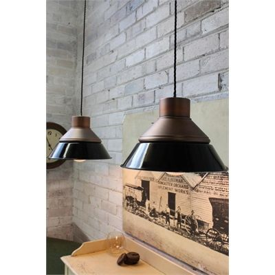 You need this Fat Shack Vintage Foundry Ceiling Light