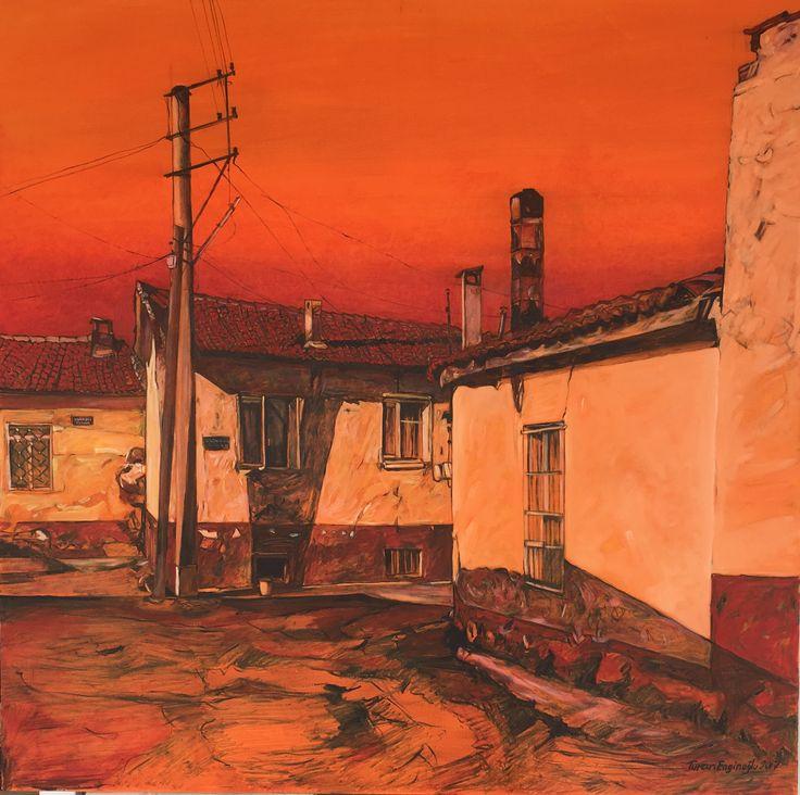 Art Suites Kolleksiyonu , 150 cm-150cm ''Turgutlu'dan'' yaglıboya resim