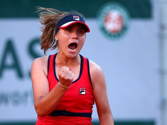Meet Sofia Kenin The 20 Year Old American Who Upset Serena Williams At The French Open Serena Williams Serena Williams French Open French Open