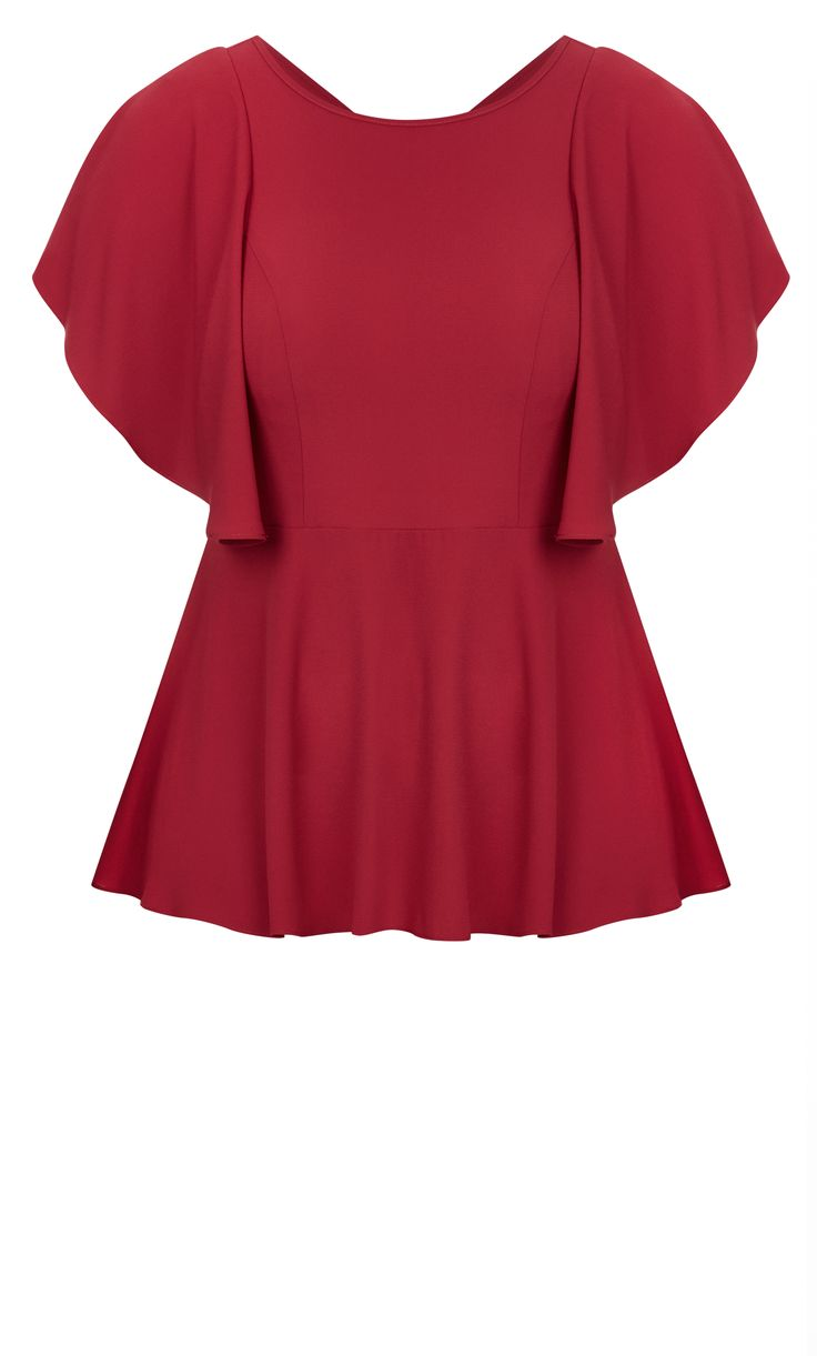 Style By Trend: Paris Date by City Chic - ROMANTIC MOOD TOP#citychic #citychiconline #curves #newarrivals #ootd #plussize #plussizefashion #psootd