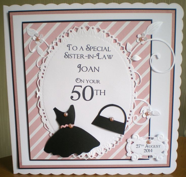 50th Birthday Cards Cricut: 37 Best Images About 50th Birthday Cards On Pinterest
