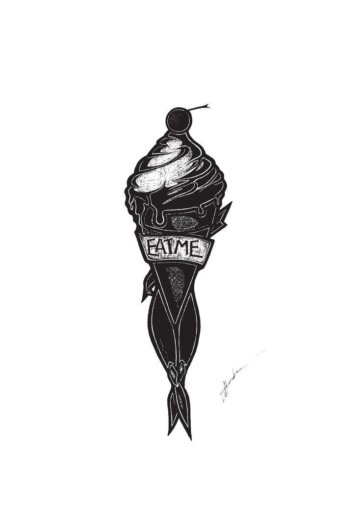 'Eat Me' Illustration By Rachel J. Enoka