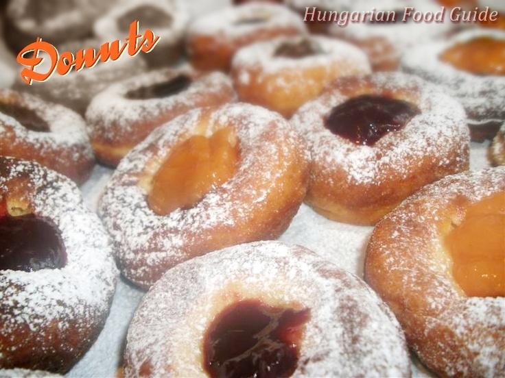 Hungarian Food Guide: Carnival Doughnuts