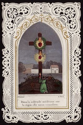 Meditating in solitude on the cross comforts us.