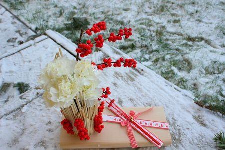 Winter floral design