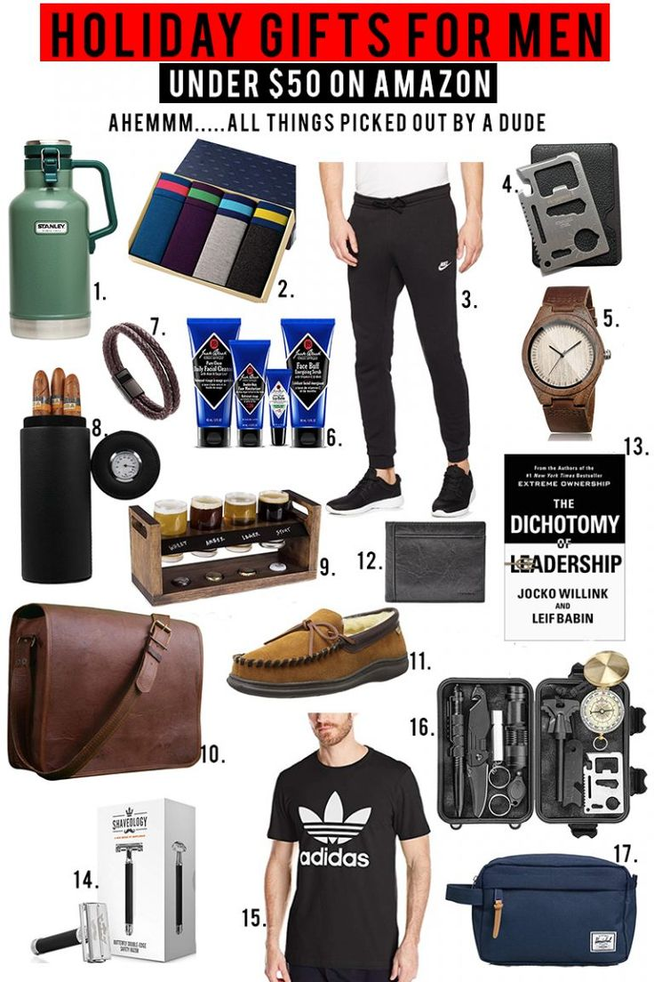 Holiday Gifts Under 50 Christmas gifts for men, Amazon