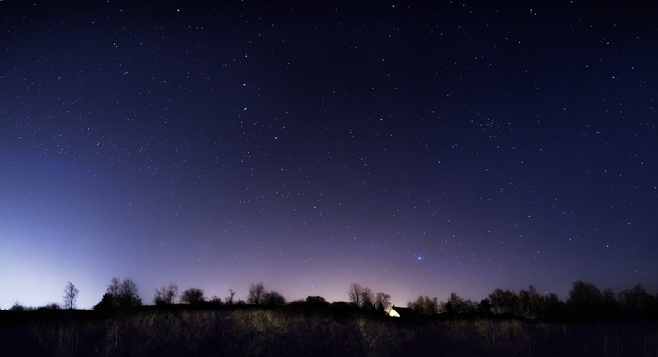 Stars over a quarry in Zgorzelec, Poland. You can buy prints of this shot at SmugMug: http://goo.gl/XgGGz