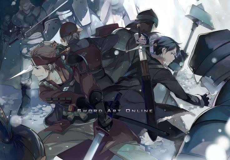Tags: Fanart, Pixiv, Sword Art Online, Fanart From Pixiv, Nineo, Kirigaya Kazuto, Tsuboi Ryoutarou
