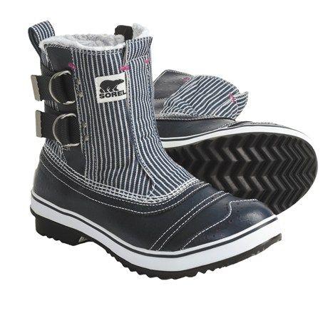 $79.95 Sorel Tivoli Slip Pac Boots - Waterproof, Insulated (For Women) in Macadam/Very Pink