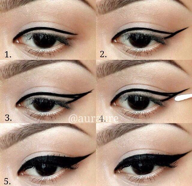 L'eye-liner pour les nulles (tutos + astuces