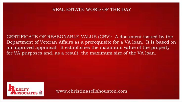 Real Estate Word of the Day for May 16, 2017 | Real Estate Word of ...