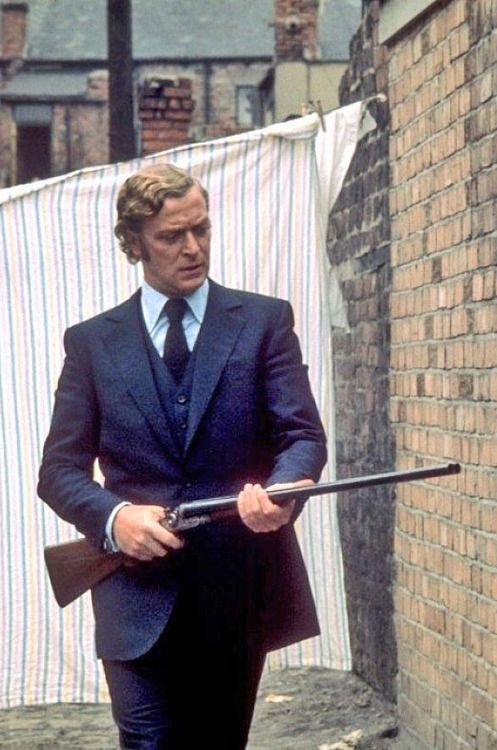Michael Caine in Get Carter(1971) - Directed by Mike Hodges
