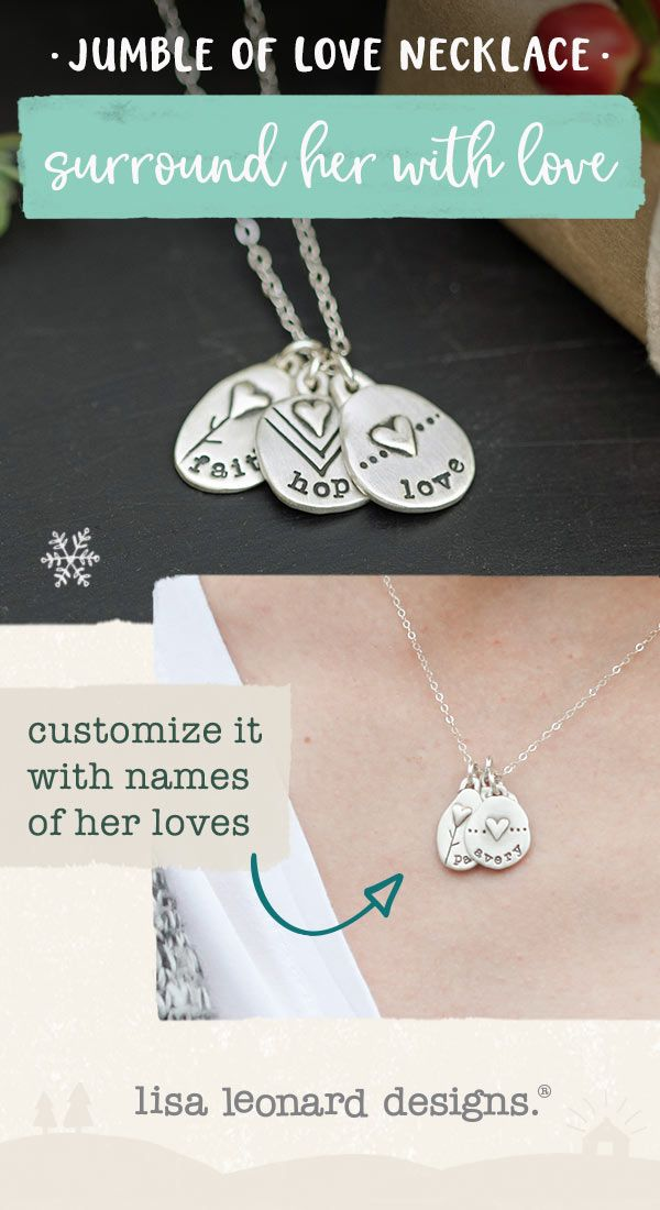 abddf9939f5fa6 jumble of love necklace - gather all your loves together and keep them  close to your heart with this meaningful handcrafted necklace. you are so  very loved.
