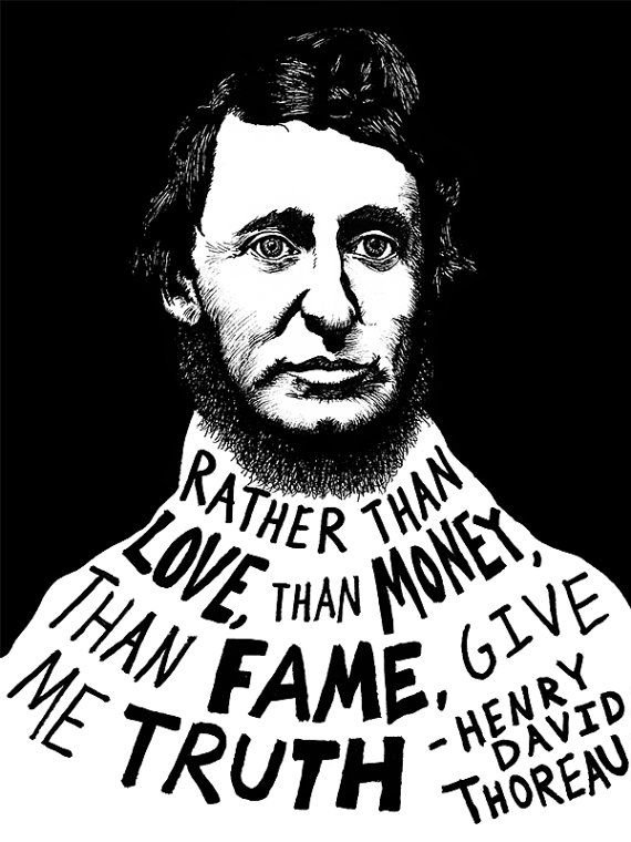 Henry David Thoreau Authors Series by Ryan by RyanSheffield