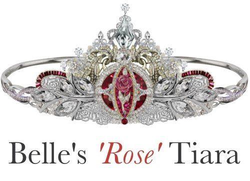 "Тиара ""Роза"" принцессы Белль"