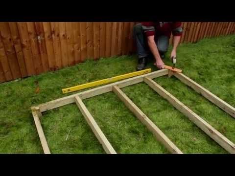 How to Build a Shed Base | Your Hub of Garden Creativity | Garden Buildings Direct Blog