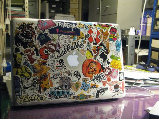 Stickers on your laptop