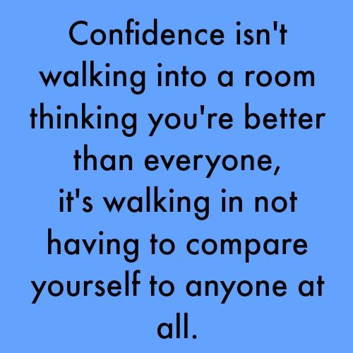About Confidence