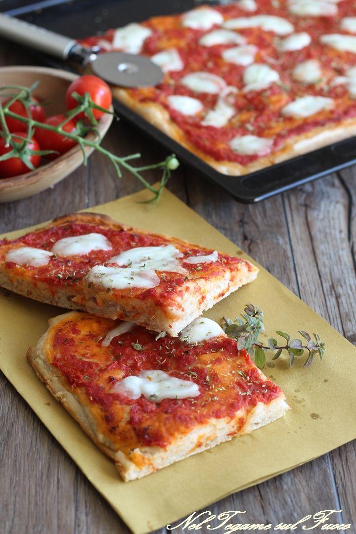 gustosa e dalla crosticina croccante... #pizza #benessere #ricetta